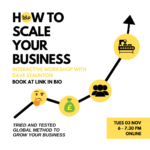 How to scale your business information